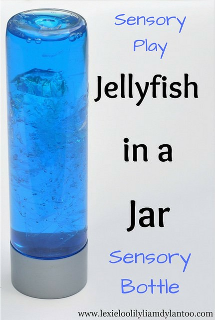 Sensory Play - Jellyfish in a Jar Sensory Bottle
