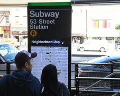 Reopening of the 53rd St (R) Station