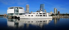 The SeaQuest docked at Milwaukee