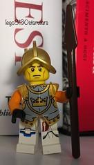 lego3130starwars lego idea 💡 special minifigure position custom medieval fantasy guard warrior
