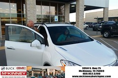 #HappyBirthday to Denise from Mr. Yomi at McKinney Buick GMC!