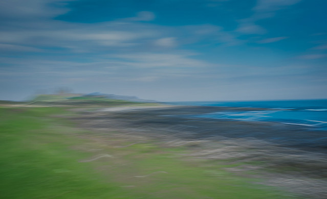 Approach to Dunstanburgh