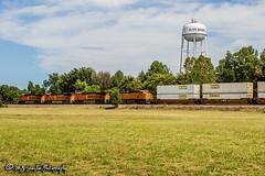 BNSF 7051 | GE ES44C4 | BNSF Thayer South Subdivision