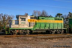 CAGY 8720 | EMD GP11 | CAGY Greenwood Depot