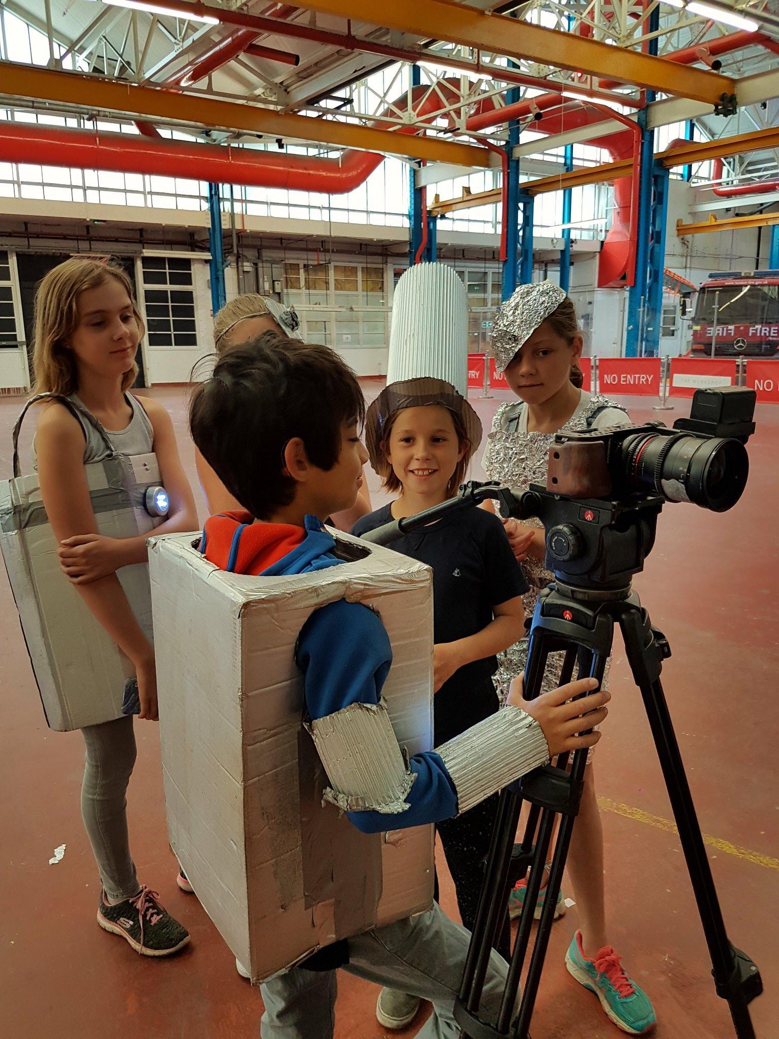 Robotropolis camera crew