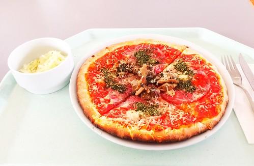 Pizza Salami & Champignons