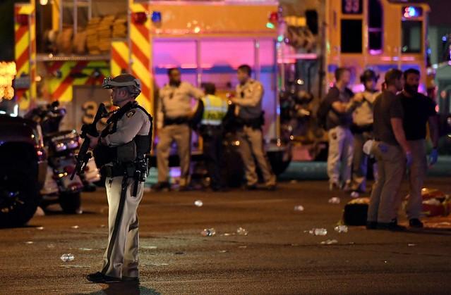 Trump classifica tiroteio em Las Vegas como 'terrível'