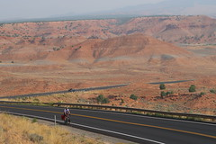Scenic highway 121 from Vernal to Lapoint