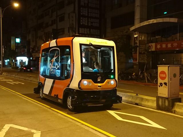 自動化無人小巴EZ10測試