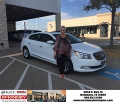 #HappyBirthday to Cheryl from Austin Bell at McKinney Buick GMC!