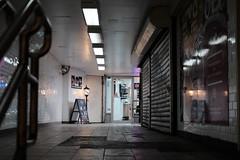 Subway Exit Passageway