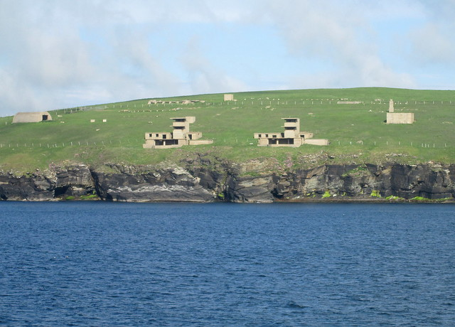 More Fortifications on South Ronaldsay, Orkney