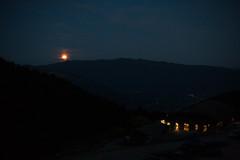 Le coucher de Lune