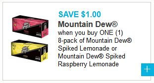 Mountain Dew Spiked Coupon