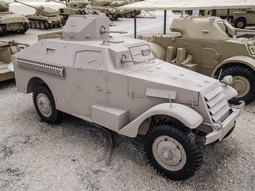 M3A1 Scout Car modified