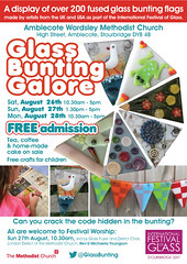 Glass Bunting Galore - Flyer