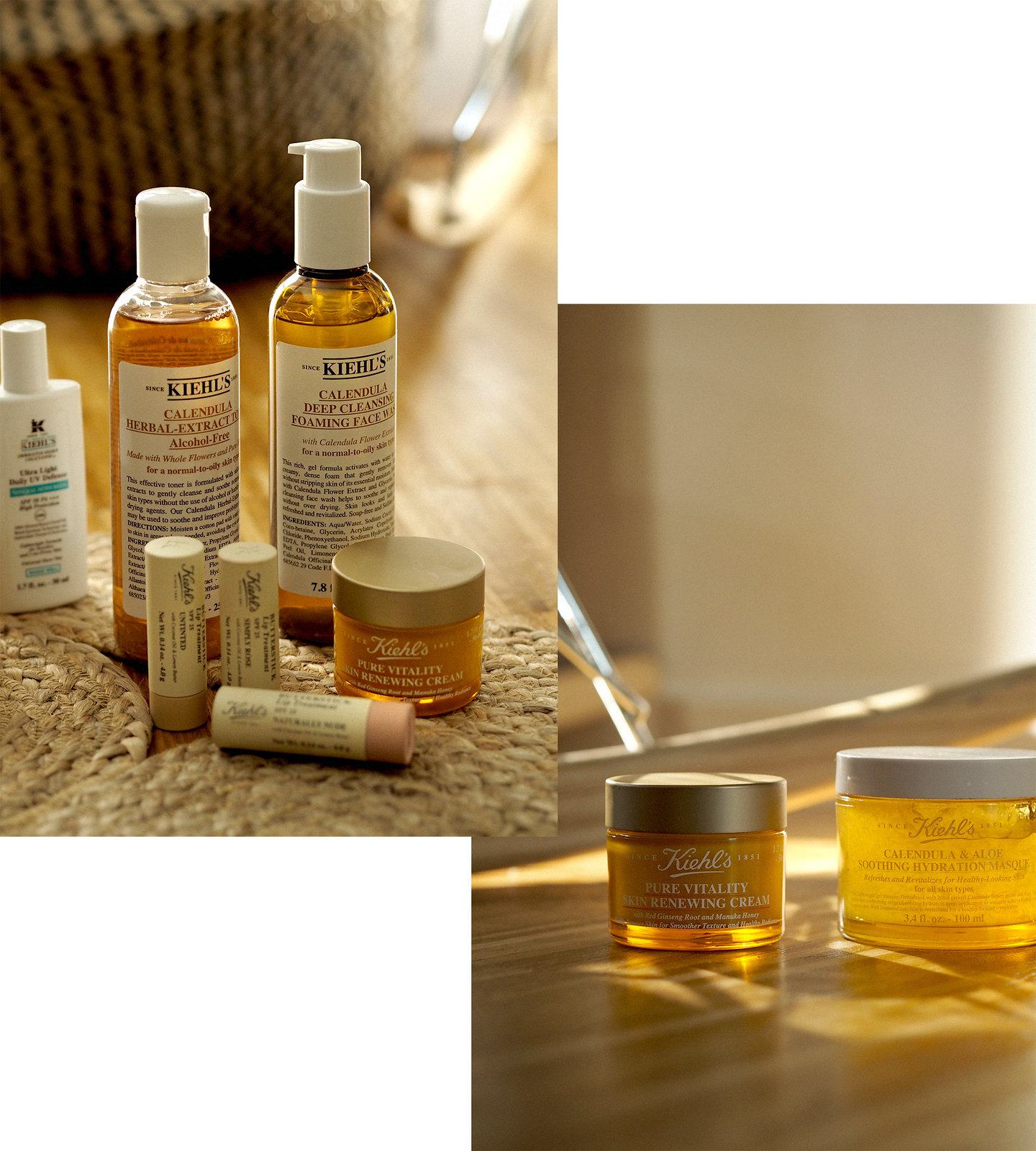 kiehl's morning routine beauty beautyblogger golden light amber beautiful wood calendula cleansing moisturizing mask skincare apothecary video blogger vlogger cats & dogs beautblog ricarda schernus düsseldorf max bechmann fotografie film nrw blog 1