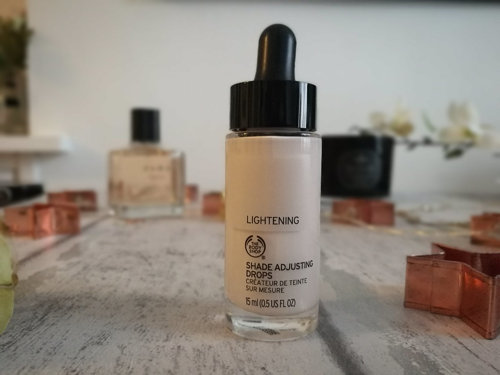 The body shop shade adjusting drops light, cruelty free, review