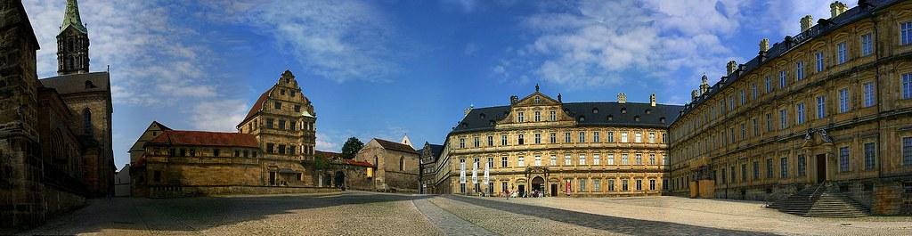 Bamberg-Domplatz-Panorama