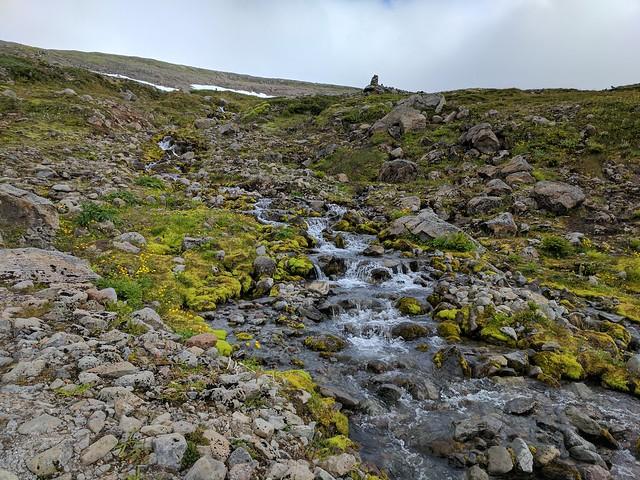 Streams near Veiðileysufjörður in Hornstrandir