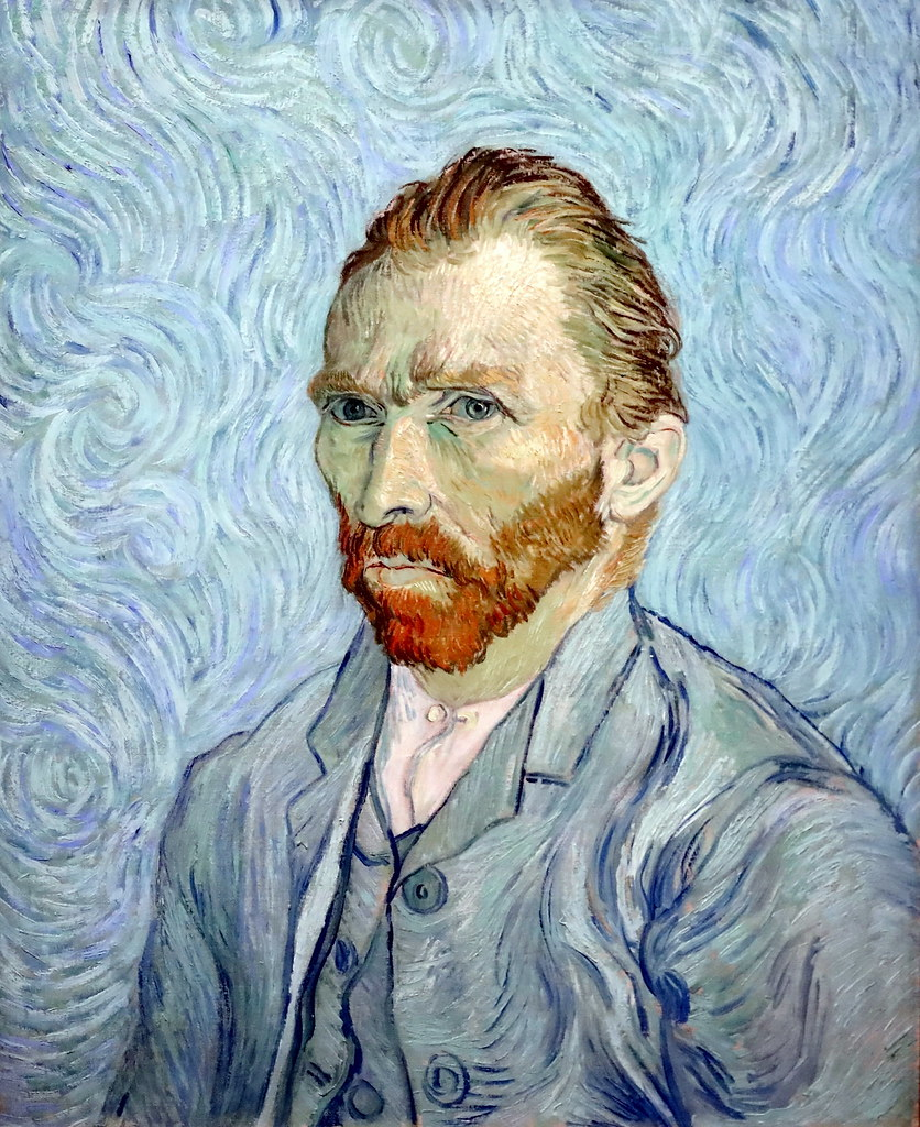 IMG_7536 Vincent Van Gogh. 1853-1890. Paris   Self-portrait. 1889.    Paris Orsay.