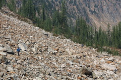 PCT backpack - Harts Pass to Cutthroat Lk TH