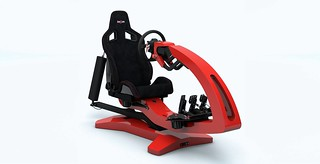 ImSim Motion Simulator Red