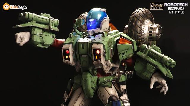 我是四海一家的男兒!《太空戰神》VR052F『強化倍力裝甲』雕像作品! ST02 1:4 Robotech Armor Cyclone VR052F Scott Bernard statue
