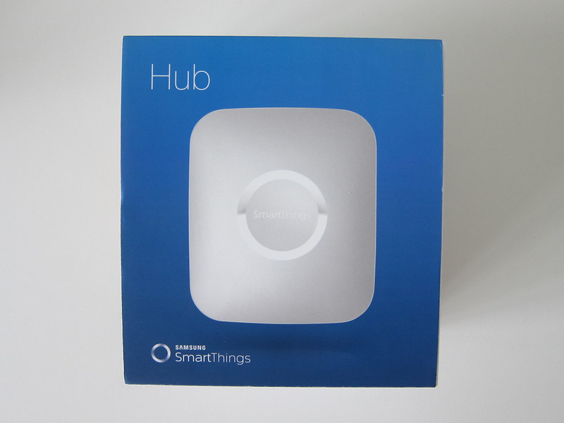 SmartThings V2 Hub (UK) - Box Front