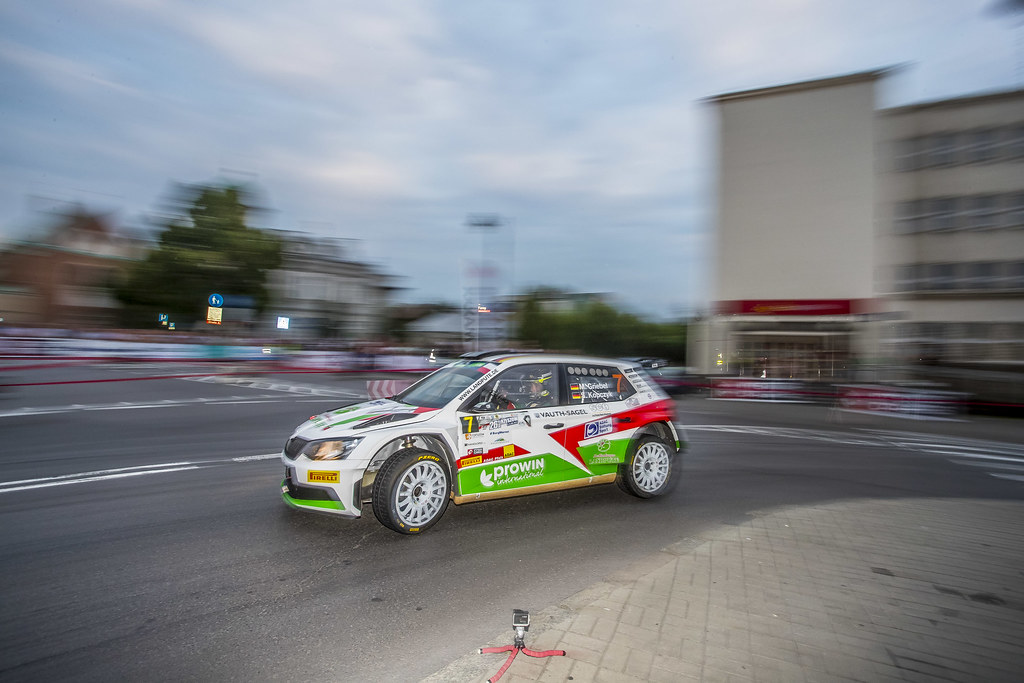 07 GRIEBEL Marijan (DEU) KOPCZYK Stefan (DEU) Skoda Fabia R5 action during the 2017 European Rally Championship Rally Rzeszow in Poland from August 3 to 5 - Photo Gregory Lenormand / DPPI