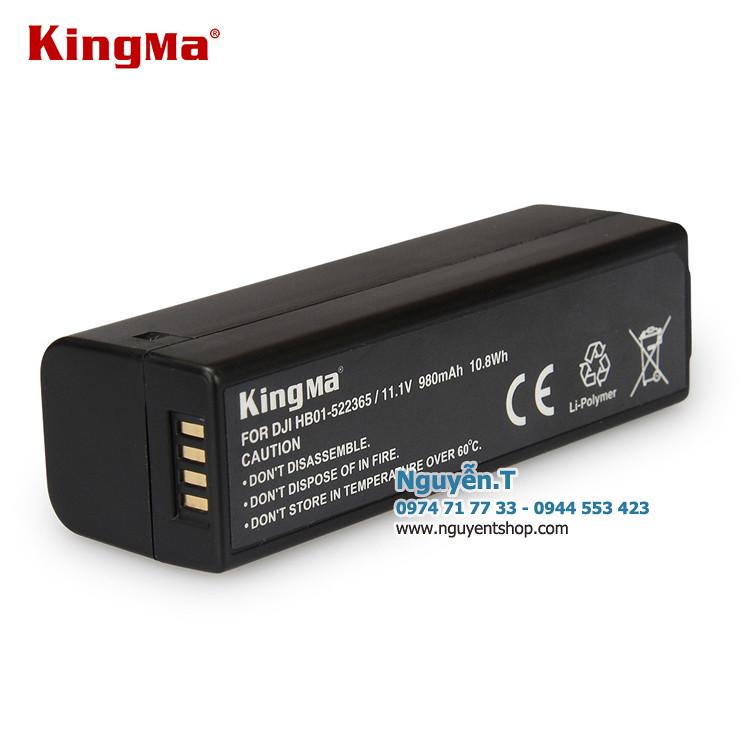 Pin sạc nhanh cho gimbal Osmo KingMa HB01 980 mAh
