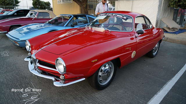 1964 Alfa Romeo Giulia Sprint Speciale Coupe at Russo and Steele Collector Car Auction