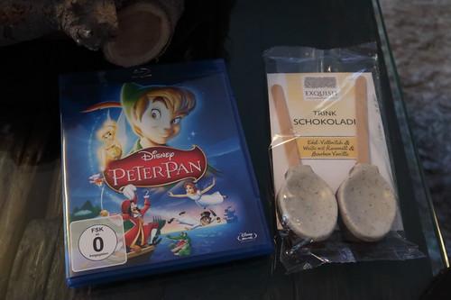 "Trinkschokolade zum Walt Disney Klassiker ""Peter Pan"""
