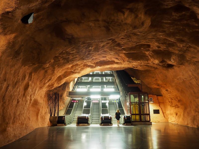 Rådhuset metro station in Stockholm