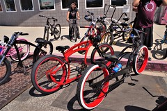 Custom Bicycles on a Sunday
