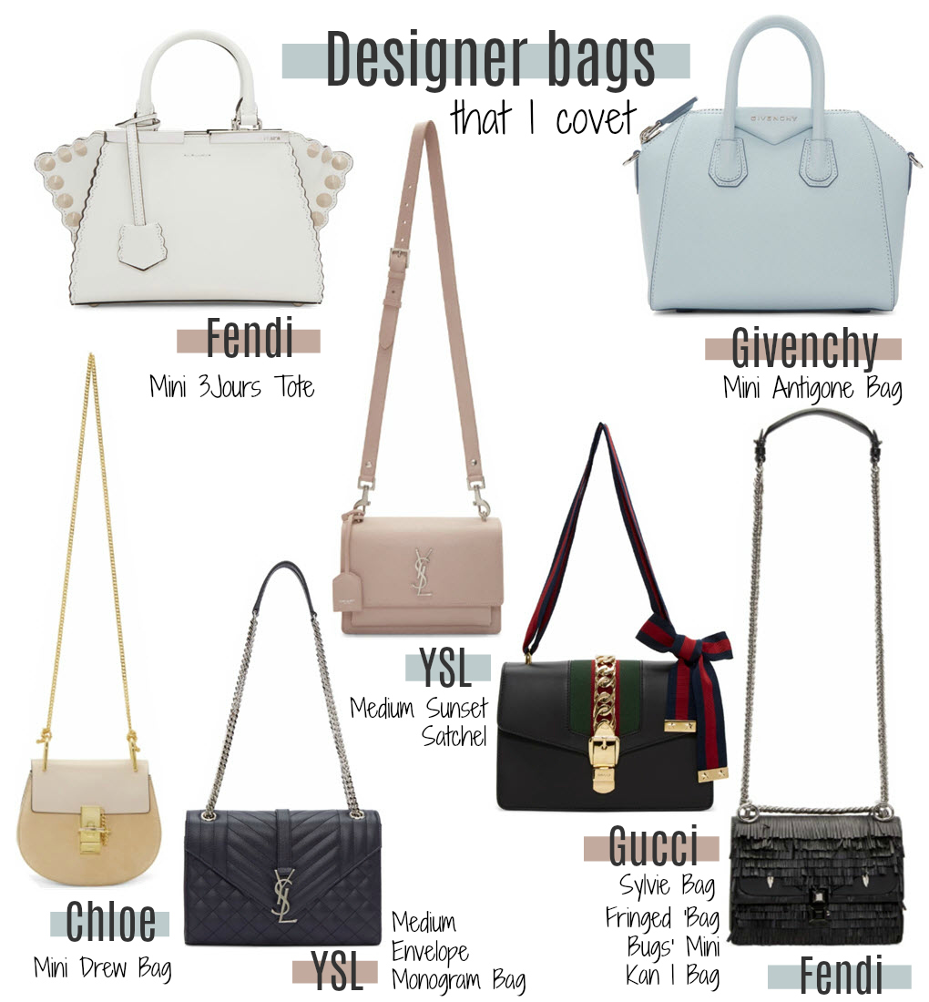 Luxury fashion bags