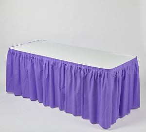 Plastic Elastic Table Skirts For Sale Anywhere In The US