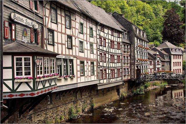 Half-timbered old town Monschau