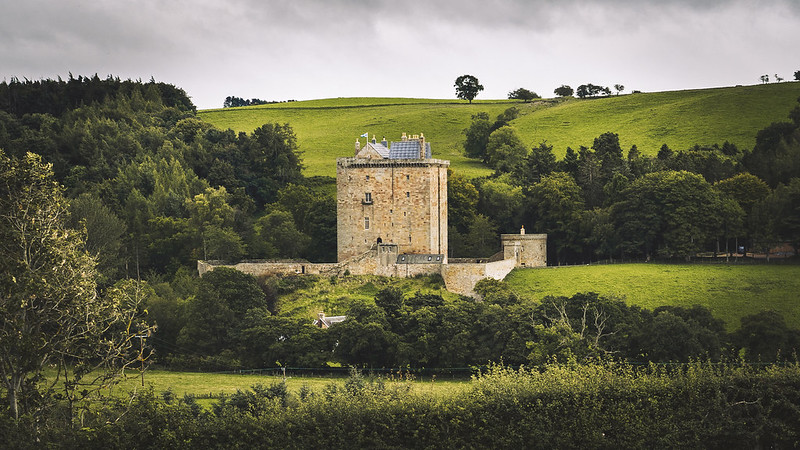 Borthwick Castle re-edited