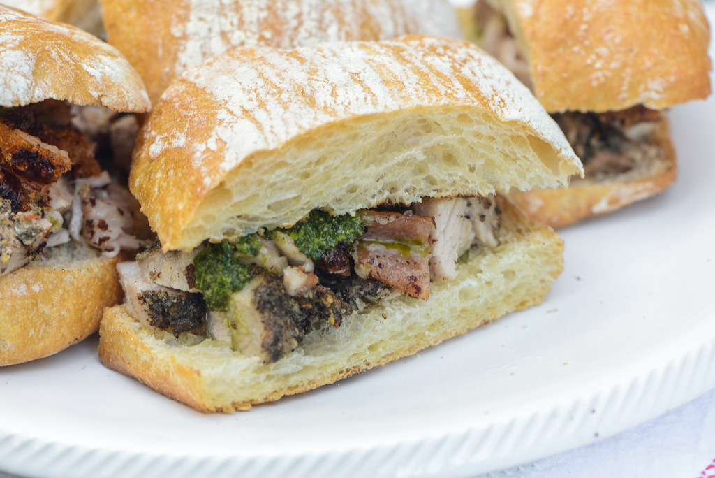 Smoked Porchetta Sandwiches