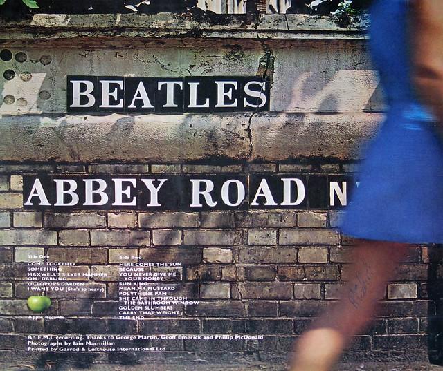 """Beatles Abbey Road UK 1st Pressing 12"""" Vinyl LP"""
