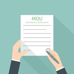 memorandum of understanding MOU