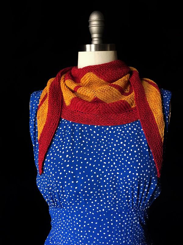 Mini Wonder Woman Wrap