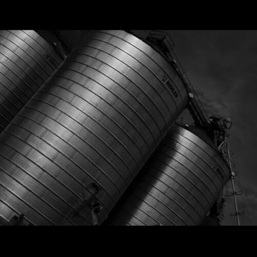 Storage tanks, Bennett, Colorado - (39°45'21