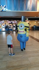 Conner and a Minion