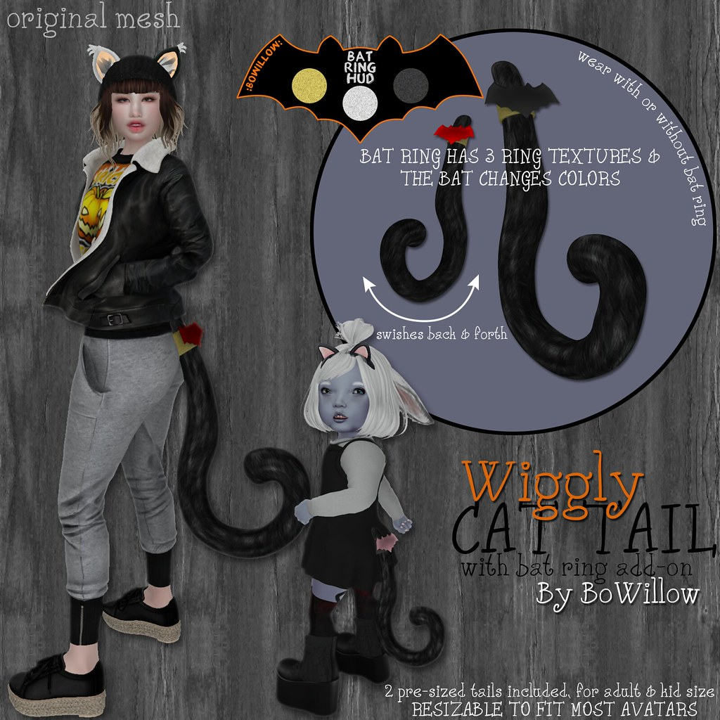 Wiggly Cat Tail Ad - TeleportHub.com Live!