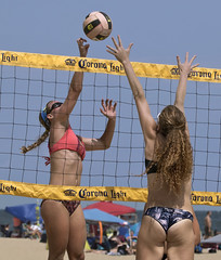 ECSC East Coast Surfing Championships Virginia Beach womens volleyball