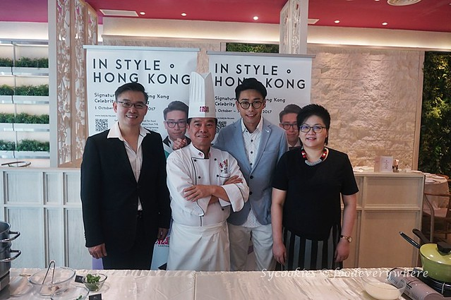 5.Cooking Demonstration with In Style Hong Kong (Hong Kong Trade Development Council) by Hong Kong Celebrity, Luk Ho Miing