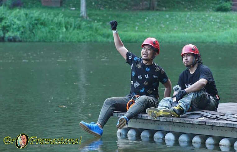 Shooting Rancang Ikon Siber di Lost World of Tambun