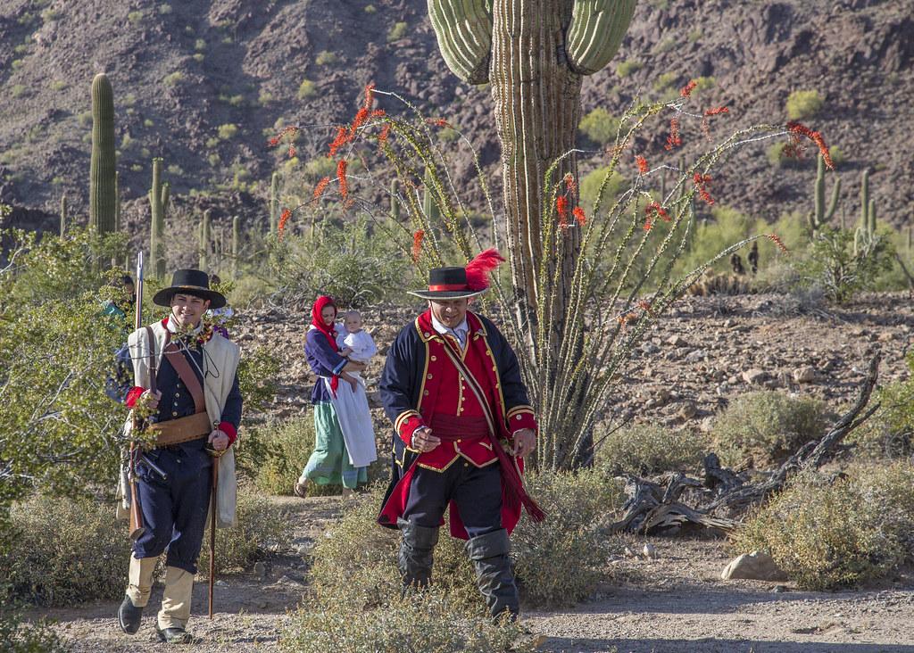 Juan Bautista de Anza National Historic Trail, Arizona